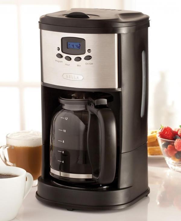 Bella Coffee Maker, 12 Cup 13600 eBay