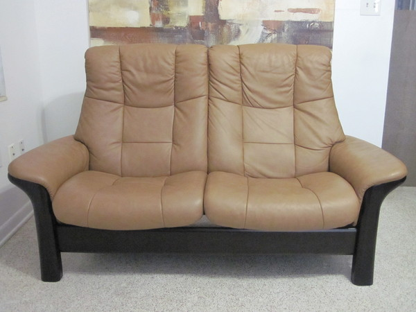 Ekornes Stressless Sofa Loveseat Leather Modern LG BUCKINGHAM