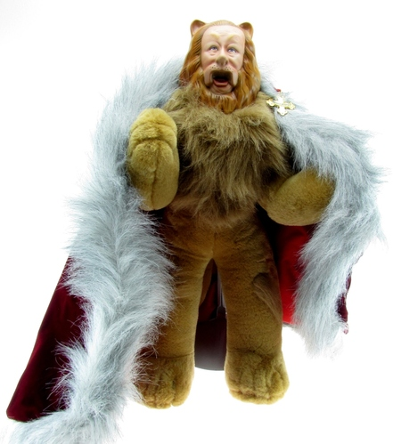 franklin mint heirloom wizard of oz bert lahr as the cowardly lion. Black Bedroom Furniture Sets. Home Design Ideas