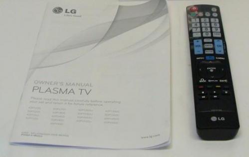 lg tv remote control manual