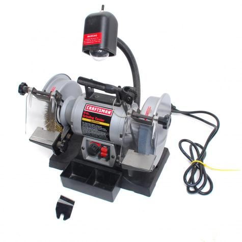 Sears Craftsman Bench Grinder 6 Grinding Center 1 5hp 2amps Vgc Ebay