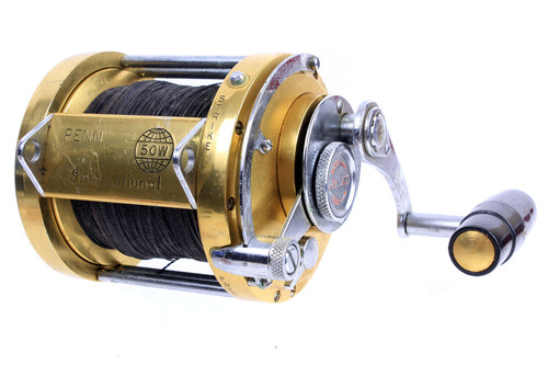 Penn international 50w reel saltwater reel big game reel for Used saltwater fishing reels for sale