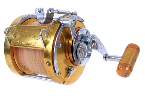 Penn international 80 big game deep sea saltwater fishing for Used saltwater fishing reels for sale