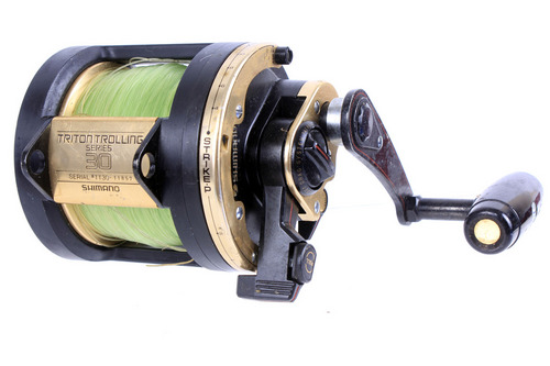 Shimano triton trolling series 30 saltwater deep sea for Deep sea fishing rods and reels for sale