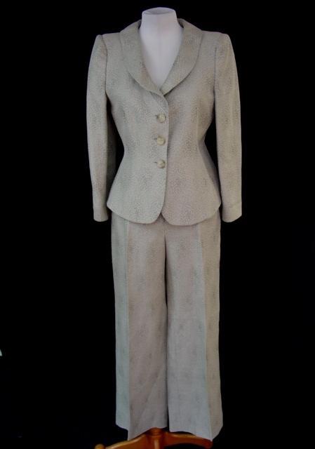 Lastest Popular Women Suit Long Sleeve Jacket Amp Trouser Leg Pants Gray Women