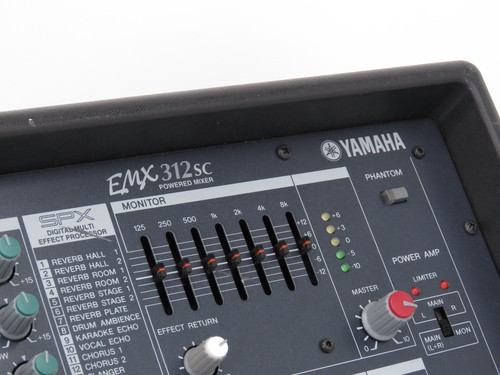 Yamaha emx 312sc mixer amp 12 channel powered mixer for Yamaha emx 312sc