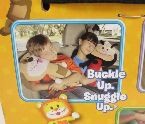 Seat Belt Stuffed Animal Pillow As Seen On Tv : NEW Plush Seat Pets