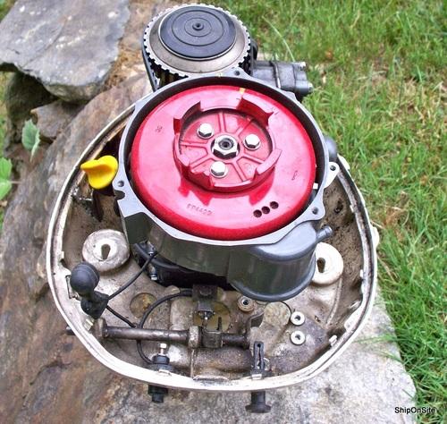 Pre 1997 honda b75 7 5 hp 4 stroke 149cc outboard motor for Honda 2 5 hp outboard motor