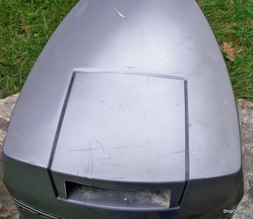 2000 johnson evinrude 130 hp outboard motor engine cover for Boat motor covers johnson