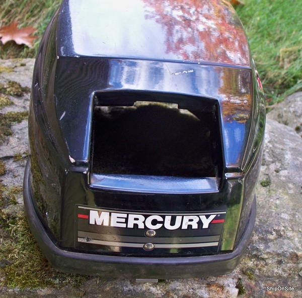 1988 mercury 9 9 15 hp outboard motor engine cover for Mercury outboard motor cowling