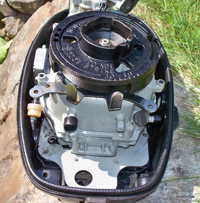 Suzuki df6 6 hp 4 stroke outboard motor powerhead 145lbs for Suzuki 2 5 hp 4 stroke outboard motor