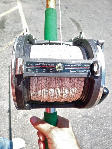 Vntg Golden Sabre Fishing Rod And Daiwa Sealine 900h Reel