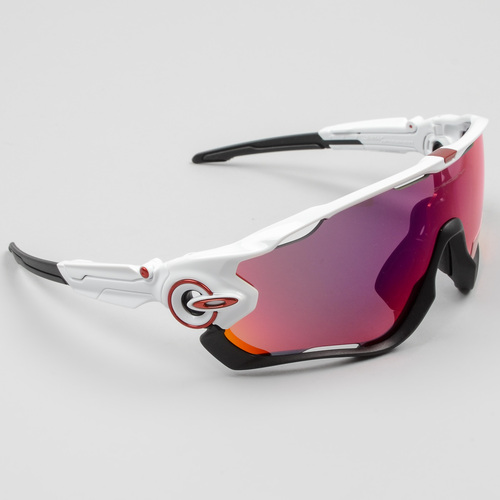 5ad0ed72df Oakley Jawbreaker PRIZM Cycling Sunglasses Polished White .