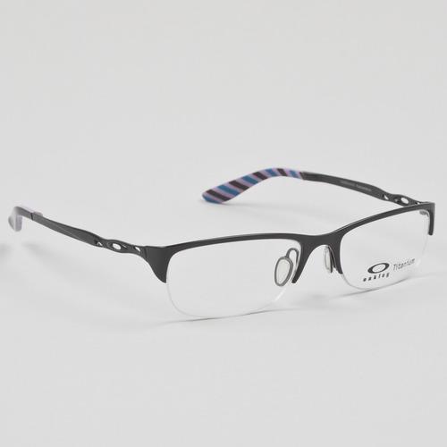 Womens Eyeglass Frames Oakley : Oakley Chainring Womens Eyeglasses Polished Black Frame eBay