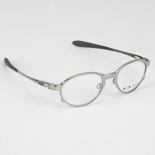 Eyeglasses Frame Polish : Oakley Overlord Ophthalmic Eyeglasses Polished Mercury ...