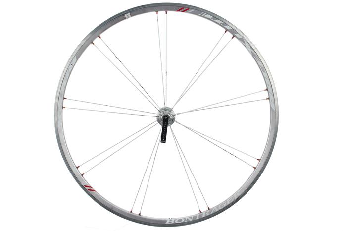 bontrager race x lite road bike front wheel 700c aluminum