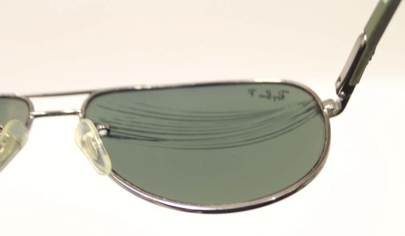 Repairing Bent Glasses Frames : BROKEN AS-IS RAY-BAN POLARIZED RB 8313 MENS SUNGLASSES ...