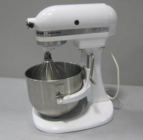 kitchenaid heavy duty stand mixer k5ss with beater bowl ebay. Black Bedroom Furniture Sets. Home Design Ideas