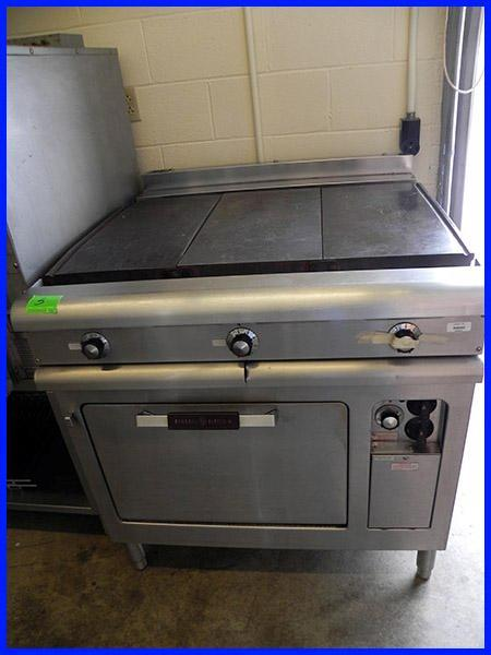 Flat Top Electric Stove ~ Ge quot griddle w convection oven cr b electric range