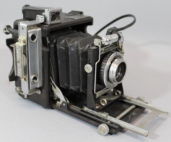 Seems me, Vintage calumet 4x5 cameras everything, that