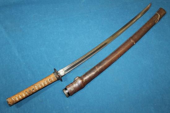 Antique 16thC Kanesada Japanese Katana Samurai Sword ...