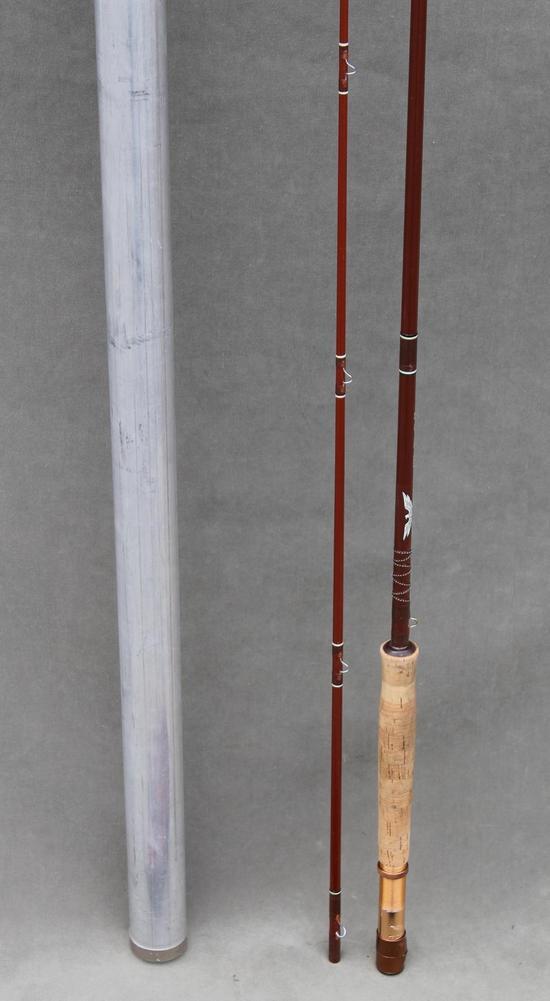 Vintage fenwick ff86 fly fishing 8 1 2 ft rod pole w for Fishing rod socks