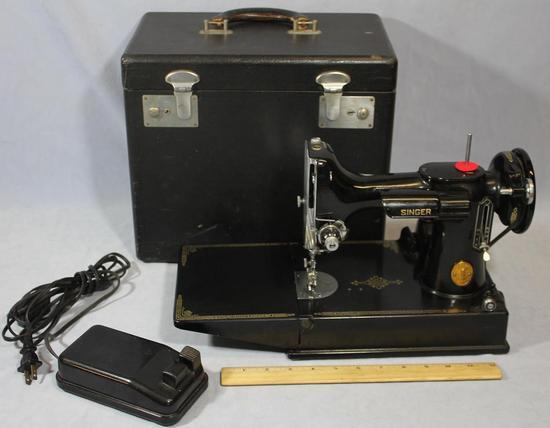 1950 portable singer sewing machine