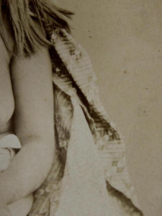 Vintage Nude Native American Indian