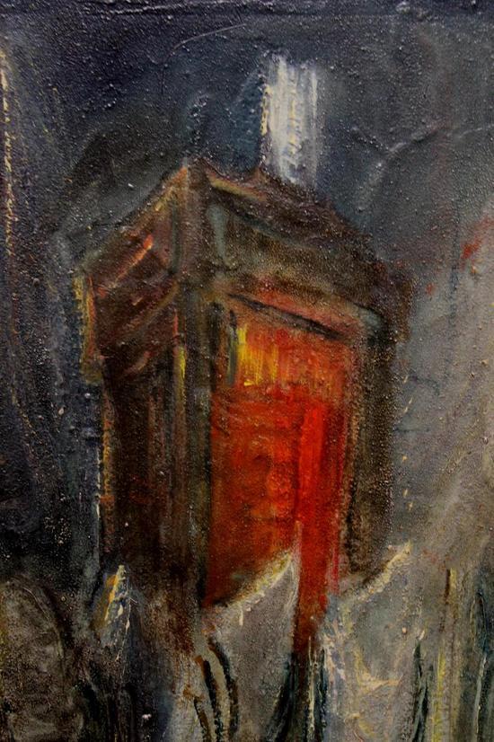 Vintage zvi raphaeli israeli judaism jewish bar mitzvah for Israeli artists oil paintings