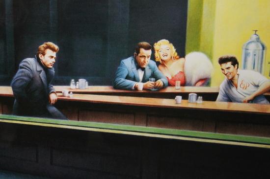 Boulevard Broken Dream Gottfried Helnwein Poster Marilyn