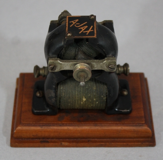 Antique early 20thc miniature ajax electric motor for Antique electric motor repair
