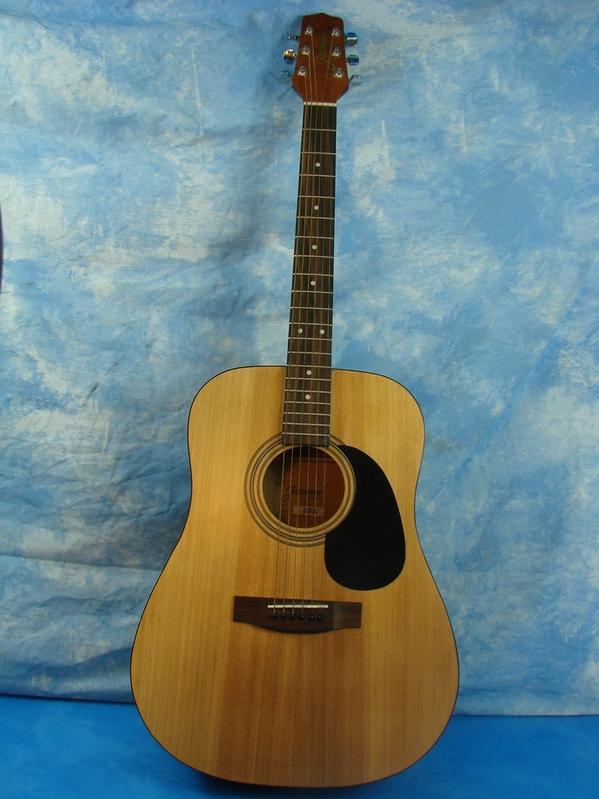 jasmine by takamine s35 dreadnought acoustic guitar vgc ebay. Black Bedroom Furniture Sets. Home Design Ideas