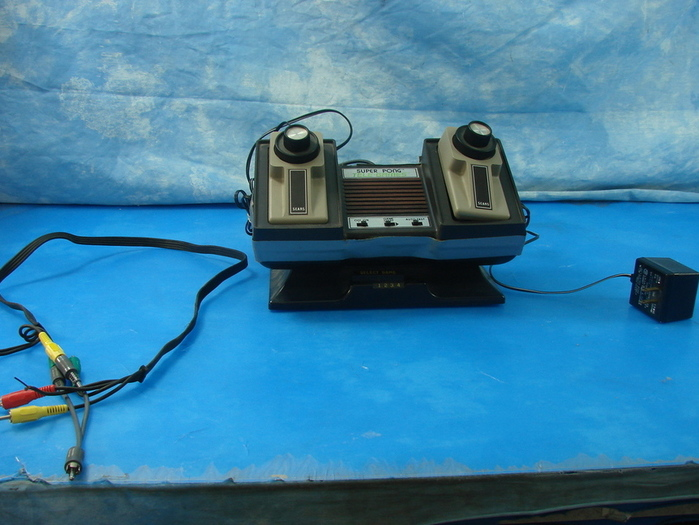 VTG Sears Atari Super Pong Tele-games System + 2 Battles | eBay