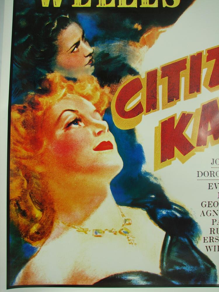 Citizen Kane Orson Welles vintage movie poster #8