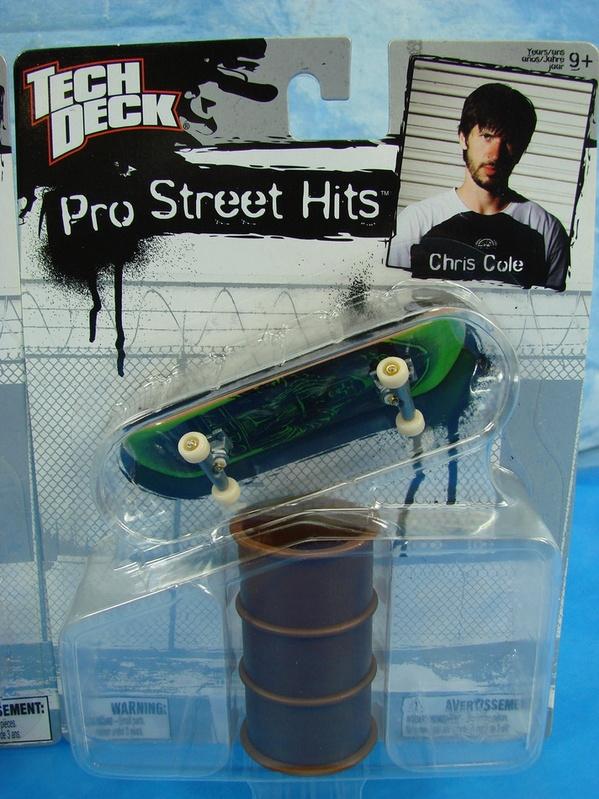 New Tech Deck Pro Street Hits Ryan Sheckler Chris Cole