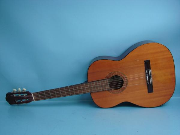 vintage 1974 el degas c79 6 string acoustic guitar w hard case made in japan ebay. Black Bedroom Furniture Sets. Home Design Ideas
