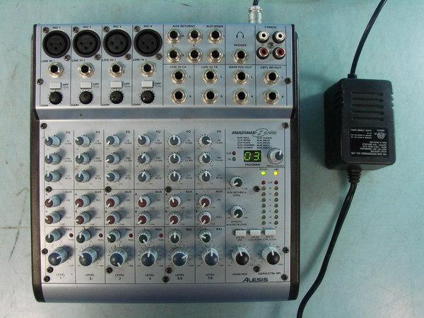 alesis multimix 8 usb mixer pro audio 8 input 4 bus studio mixer interface works ebay. Black Bedroom Furniture Sets. Home Design Ideas