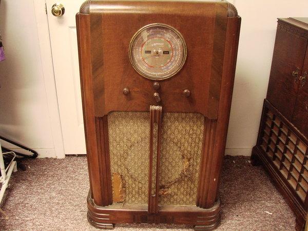 Vtg Crosley Model 769 Am Shortwave Console Radio Receiver