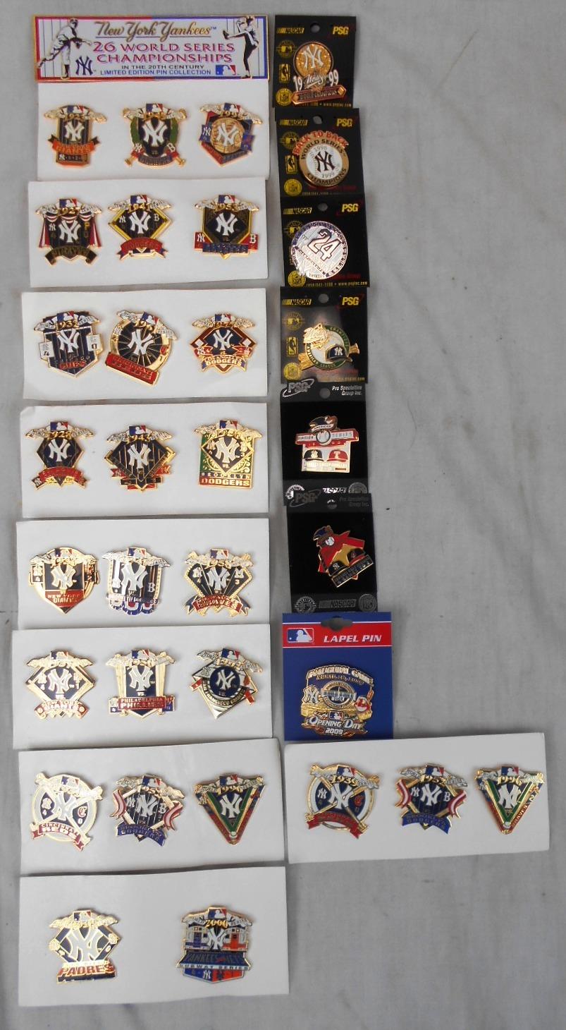 Yankees Classic Pins NY Hat Lapel Pin