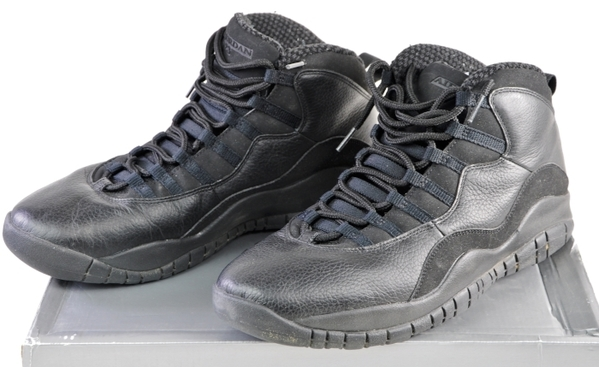 new product f881e bf8b7 Details about 310805-010 Nike Air Jordan 10 Retro Black White 11.5 11&1/2  in Original Box