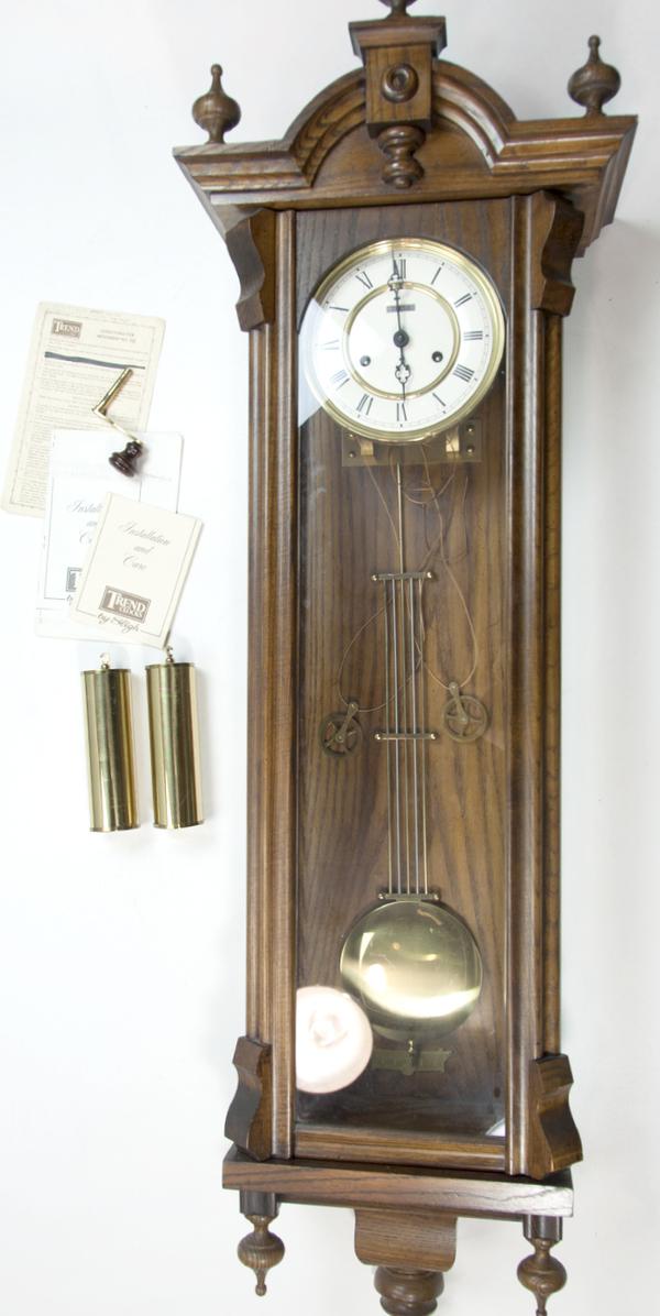 Trend Clocks By Sligh Large Wall Mount Pendulum