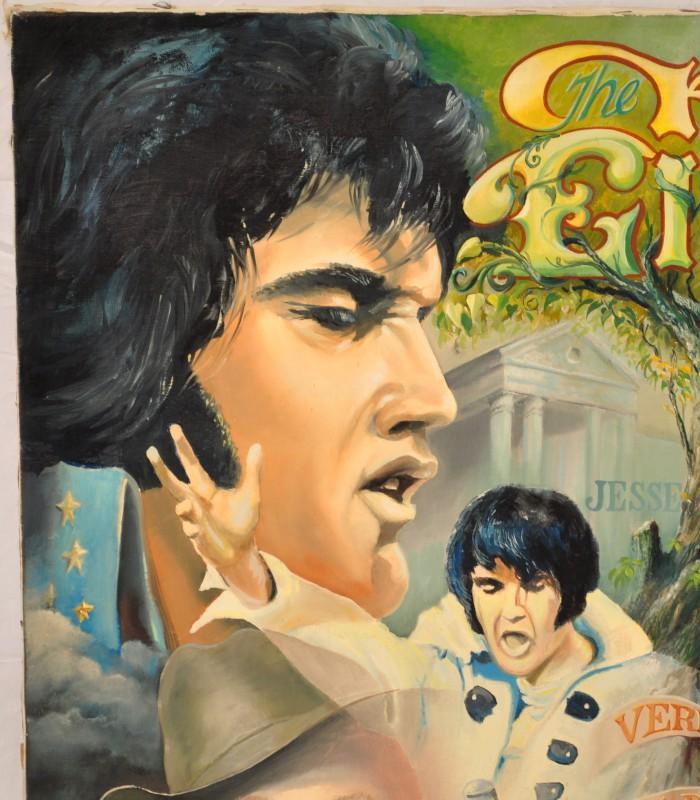 1361 best Elvis Art images on Pinterest | Elvis presley ...  |1977 Elvis Painting