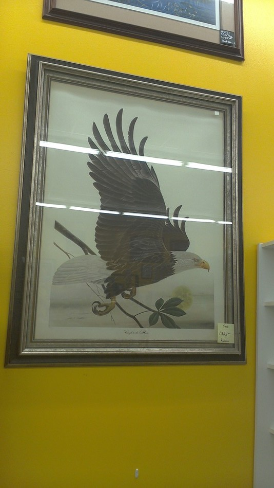 Eagle to the Moon painting by John Ruthven