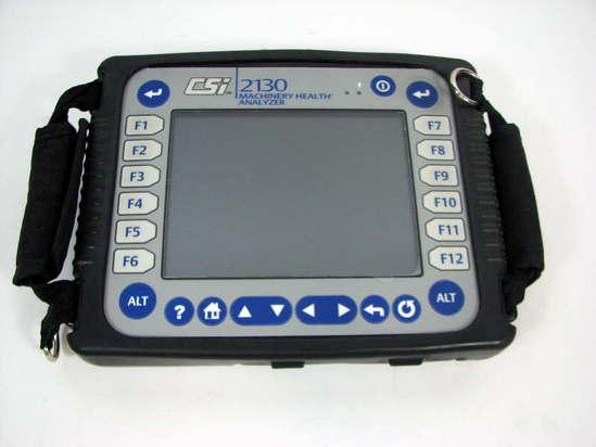 emerson csi 2130 machinery health analyzer system w case ebay rh ebay com CSI 2140 csi 2130 instruction manual