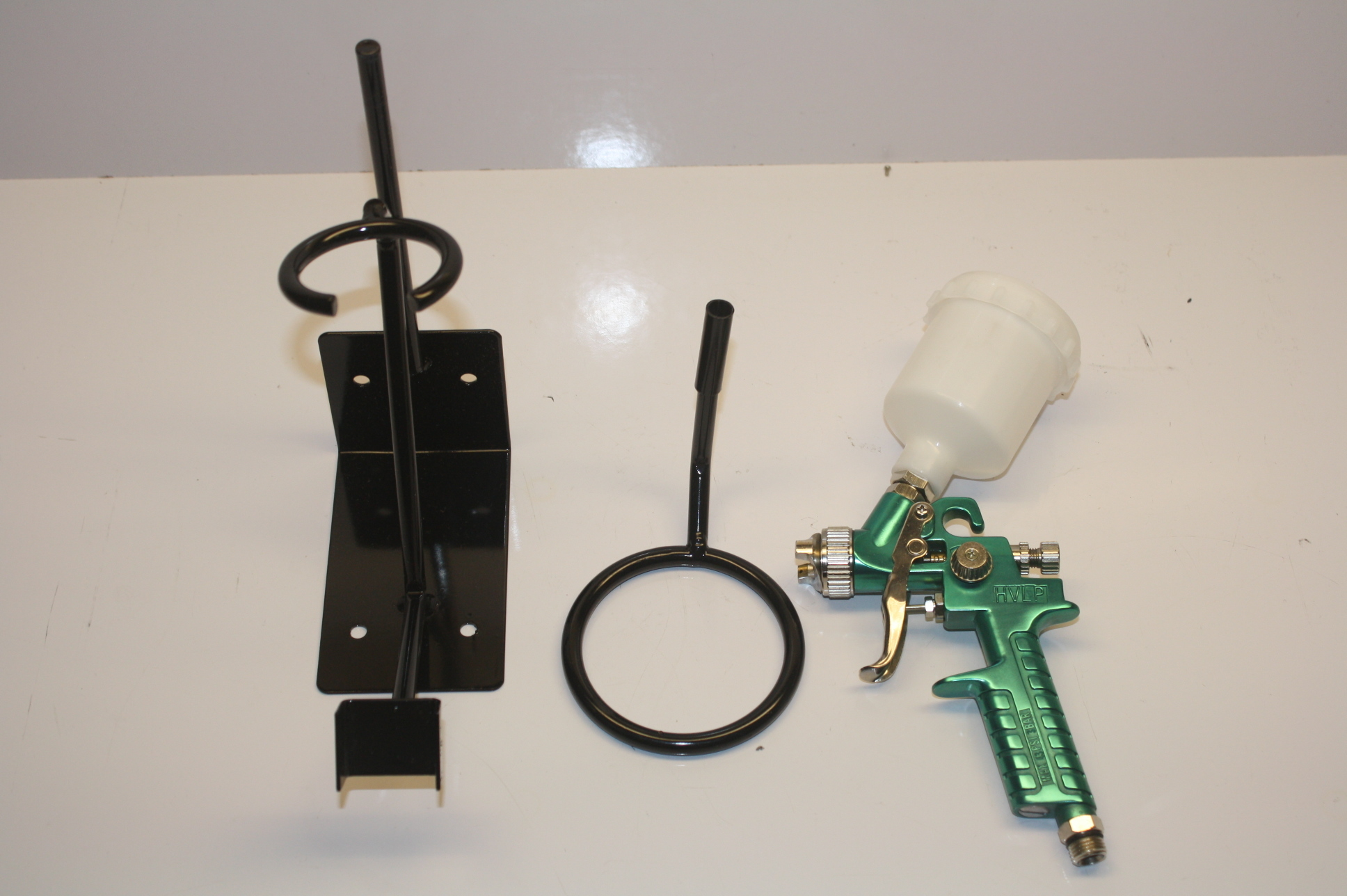 Touch Up Spray Gun KA-1182 Power-Mite With Wall Mount New-Open Box!