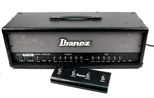 ibanez tb100h tone blaster electric guitar power amp amplifier head footswitch ebay. Black Bedroom Furniture Sets. Home Design Ideas