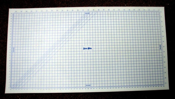 Sew Rite Large 32 Quot X 60 Quot Quilters Gridded Cutting Table