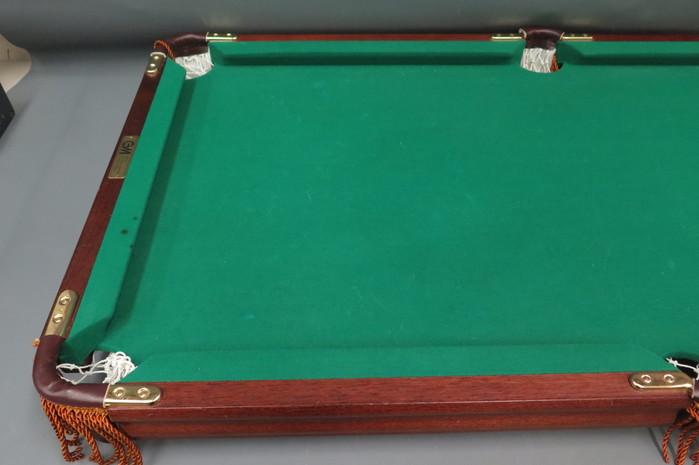 Vintage GMI Minnesota Fats Mini Kids Childs Pool Table W Balls - Minnesota fats mini pool table