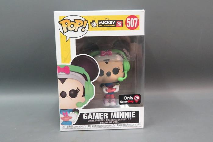 Funko Pop- Gamer Minnie Funko Pop#507 In Stock Gamestop Exclusive