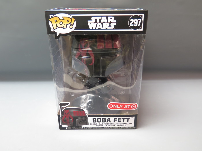 Star Wars BOBA FETT 10 Inch Funko Pop Figure Red #297 Ships 24 hrs